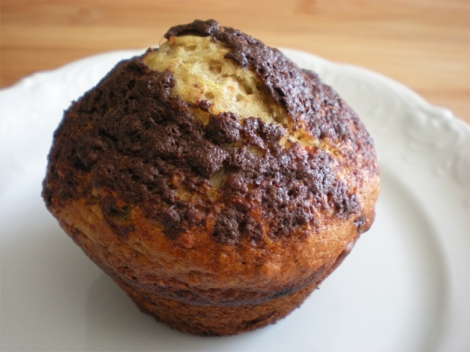 banana-muffins-chocolate
